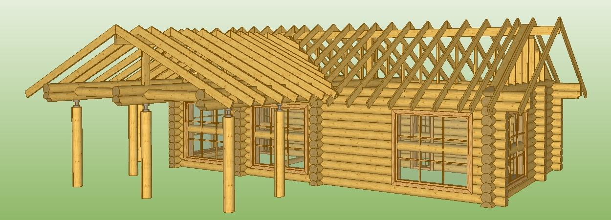 designing of wooden houses