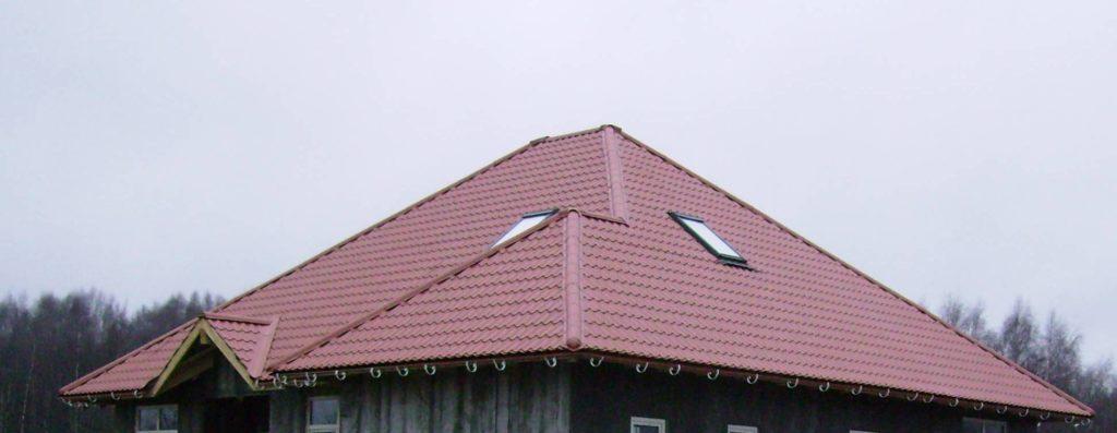 крыша покрытая металлочерепицей монтаж металлочерепицы